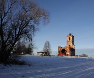 Абрысы Белай Царквы ў Чашніцкім раёне