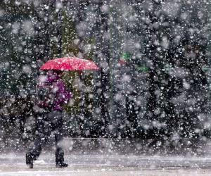 Першыя дні вясны ў нашай краіне пачнуцца з дажджу і мокрага снегу