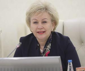 Ірына Касцевіч, міністр працы і сацыяльнай абароны