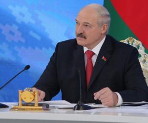 Аляксандр Лукашэнка сустрэўся з прадстаўнікамі СМІ Расіі
