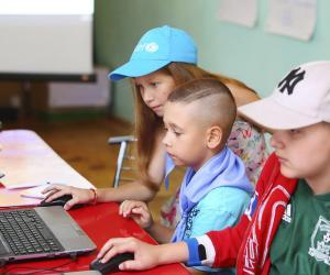 Больш за 300 праектаў стварылі беларускія школьнікі ў ІT-лагеры