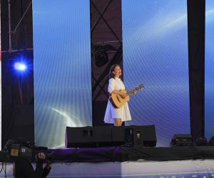 У Наваполацку ўпершыню прайшоў канцэрт «Песня года»