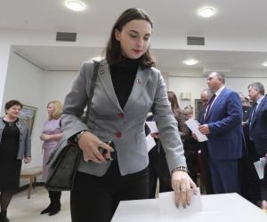 На пасяджэнні ЦВК зарэгістраваны 56 членаў Савета Рэспублікі сёмага склікання