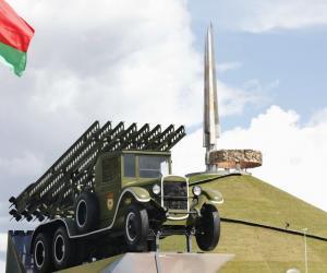 Легендарную «Катюшу» вчера установили в музее военной техники