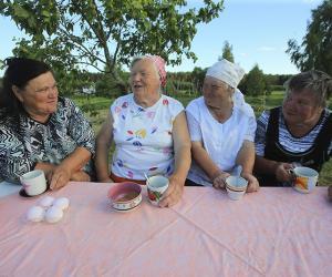 Каждый третий сельчанин — пенсионер