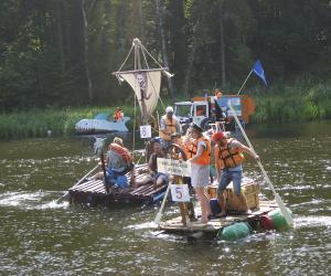 Унікальны заплыў «на чым папала» прайшоў на Аўгустоўскім канале
