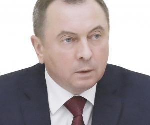 Уладзімір Макей, міністр замежных спраў