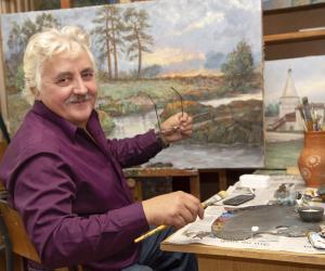 Известный белорусский пейзажист украшает своими скульптурами малую родину