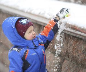 Здароў, пушысты, мяккі снег!