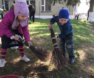 Школьнікі прынялі ўдзел у акцыі «Зробім Беларусь чысцейшай»