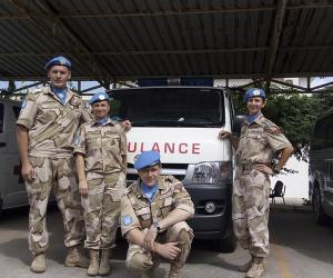 В Ливане военные медики угощали иностранцев блюдами из картофеля