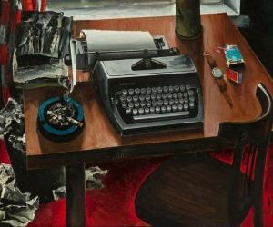 Как художник Май Данциг создавал свои картины