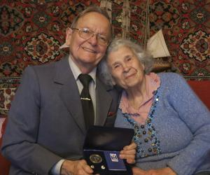 Владимир и Лидия Лисовские награждены медалью «За любовь и верность»