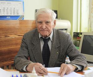 86-летний доктор технических наук: Всеми успехами я обязан жене