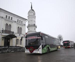 В Могилеве начали курсировать электробусы