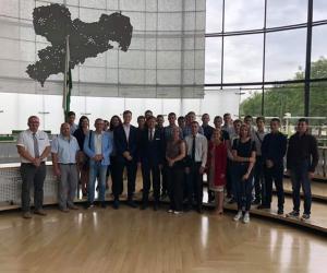 Учащиеся и педагоги 12-го столичного лицея посетили немецкий город Вердау