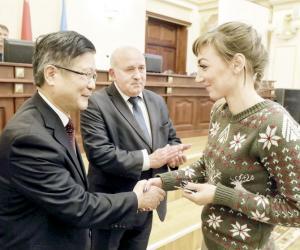 Як Віцебшчына развівае стасункі з Кітаем