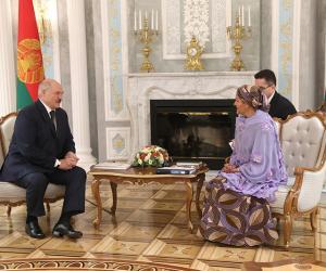 Президент встретился с первым заместителем Генерального секретаря ООН
