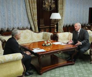 Лукашэнка сустрэўся з сакратаром Савета бяспекі пры Прэзідэнце Узбекістана