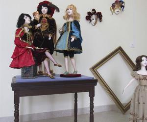 У Віцебску адкрылася выстаўка аўтарскай лялькі