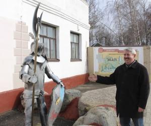 Сварщик из Мстиславля создает уникальные железные скульптуры