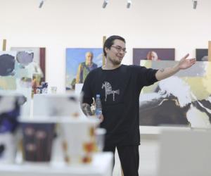 У Музеі гісторыі горада Мінска стартаваў праект «Арт-кава»