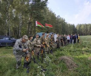 Магілёўскія пошукавікі знайшлі пад Слаўгарадам поле бою