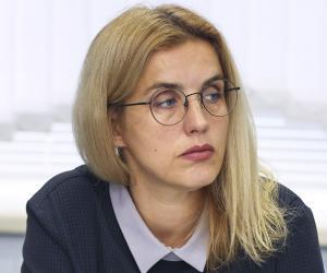 Аксана Скiндзер, начальнiк упраўлення нарыхтовак Белкаапсаюза