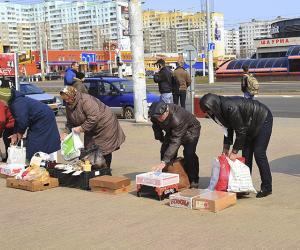 Як у Мінску выяўляюць пункты нелегальнага продажу чырванакніжнікаў