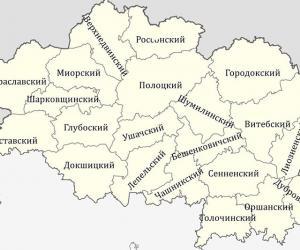 Плошча Віцебшчыны павялічыцца на 1160 гектараў