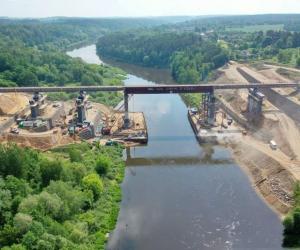 В Гродно идет грандиозная реконструкция моста через Неман