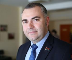 Андрэй Бугроў, старшыня Мiнскага гарадскога Савета дэпутатаў