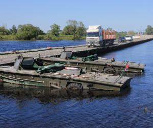 Что происходит у поврежденного моста в Житковичском районе