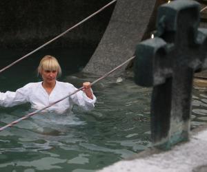 Как проходило Крещение в Минске