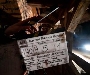 Корреспонденты «Звязды» посетили ночные съемки национального кинопроекта