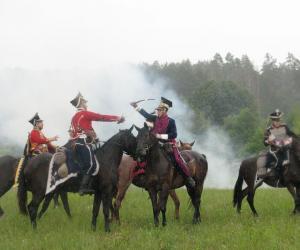 Як праходзіў ваенна-гістарычны фестываль «Мір-1812»