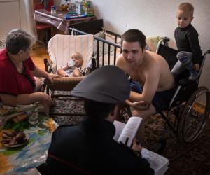 Карэспандэнты «Звязды» далучыліся да акцыі «Дом без насілля!»
