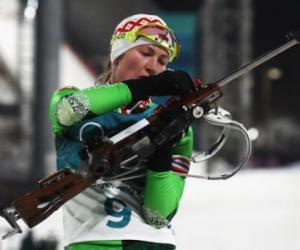 Золото Пхёнчхана выиграли белорусские биатлонистки!