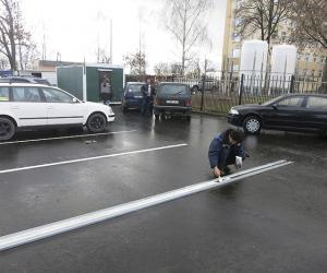 «Звязда» дапамагла ліквідаваць стыхійную паркоўку ў Магілёве