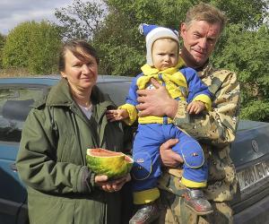 Сяргей і Святлана Кабзарэнкі вырашылі жыллёвую праблему з дапамогай вёскі