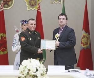 Корреспондент «Звязды» стал лауреатом конкурса Министерства обороны