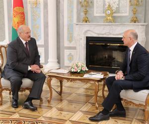 Аляксандр Лукашэнка сустрэўся з прэм'ер-міністрам Малдовы