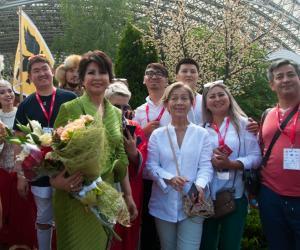 Роза Рымбаева: Мая галоўная мара збылася