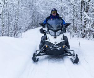 Падчас катання на снегаходзе загінуў жыхар горада Віцебска