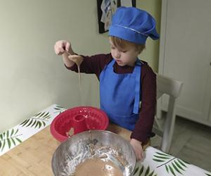 У трохгадовага кухара Марка — больш за 15 тысяч падпісчыкаў у Instagram