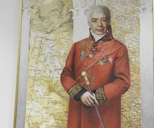 Партрэты гiстарычных асоб, з якiмi звязана гiсторыя Мінска, размешчаны ў Мiнскай гарадской ратушы