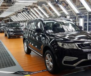 """Первый серийный автомобиль выпустили на новом заводе """"БелДжи"""""""