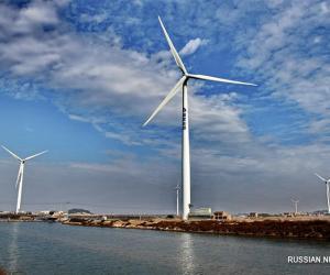 У правінцыі Фуцзянь актыўна развіваецца ветраэнергетыка