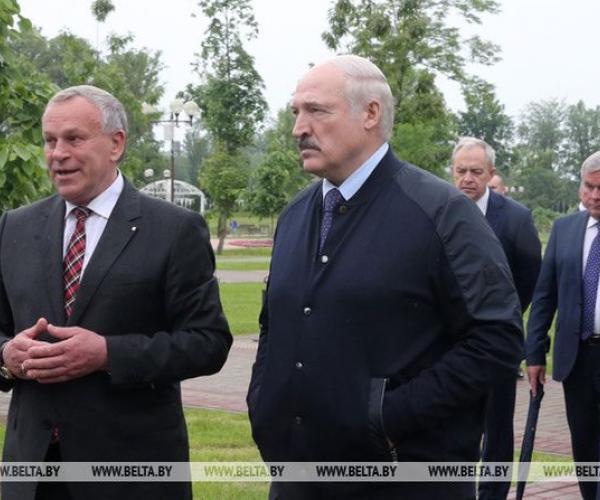 Аляксандр Лукашэнка здзяйсняе працоўную паездку ў Магілёўскую вобласць