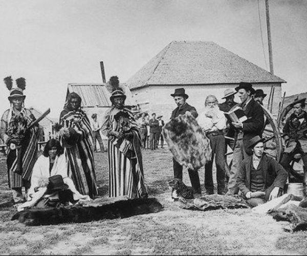 Сын Коренастой Рыси, или индейские следы в Беларуси